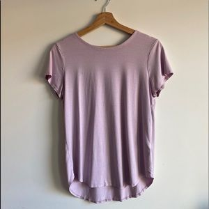 Lilac Cupio Lounge Tee / Soft & Fitted